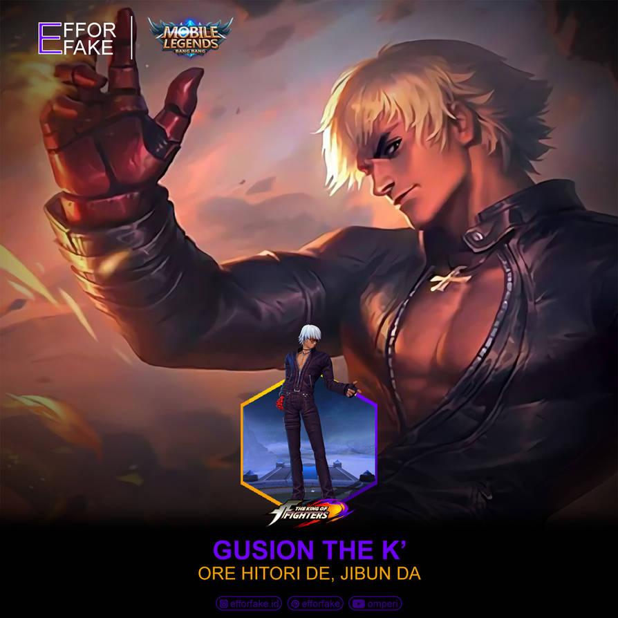 gusion k    mobile legends by efforfake ddm0xs5