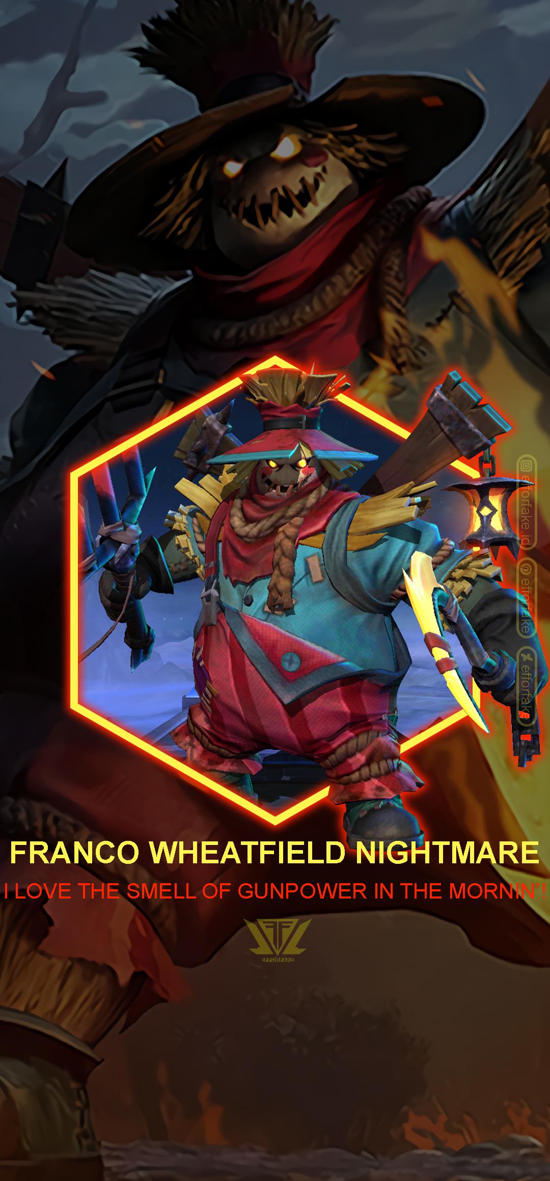 Franco Wheatfield Nightmare Mobile Legends Wallp By