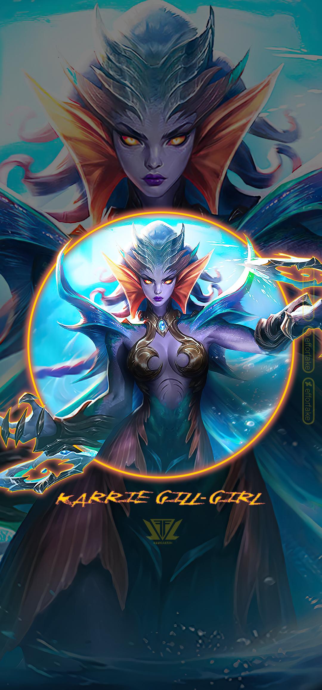 Karrie Gill Girl Mobile Legends Wallpaper By Efforfake On Deviantart