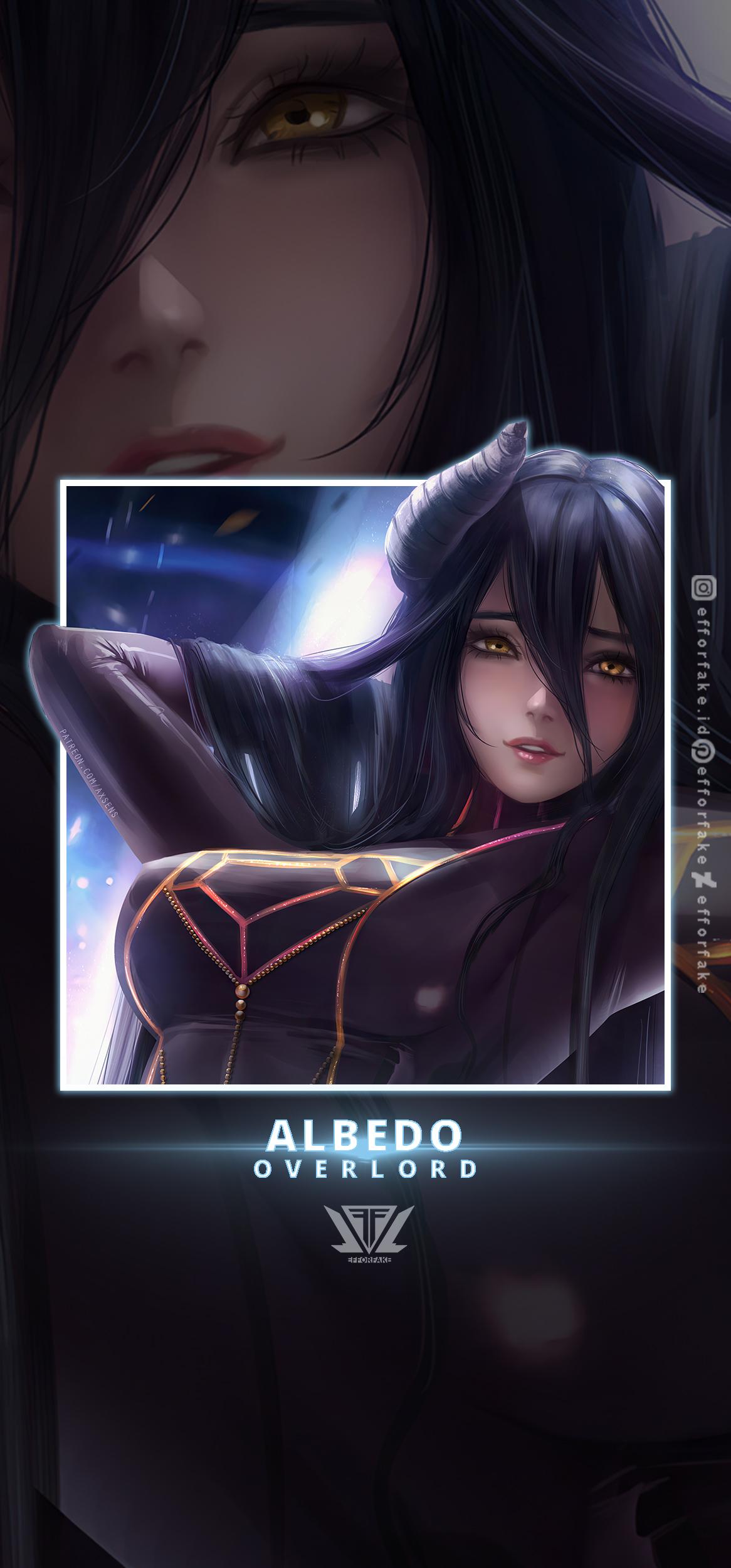 Albedo Overlord Wallpaper By Efforfake On Deviantart