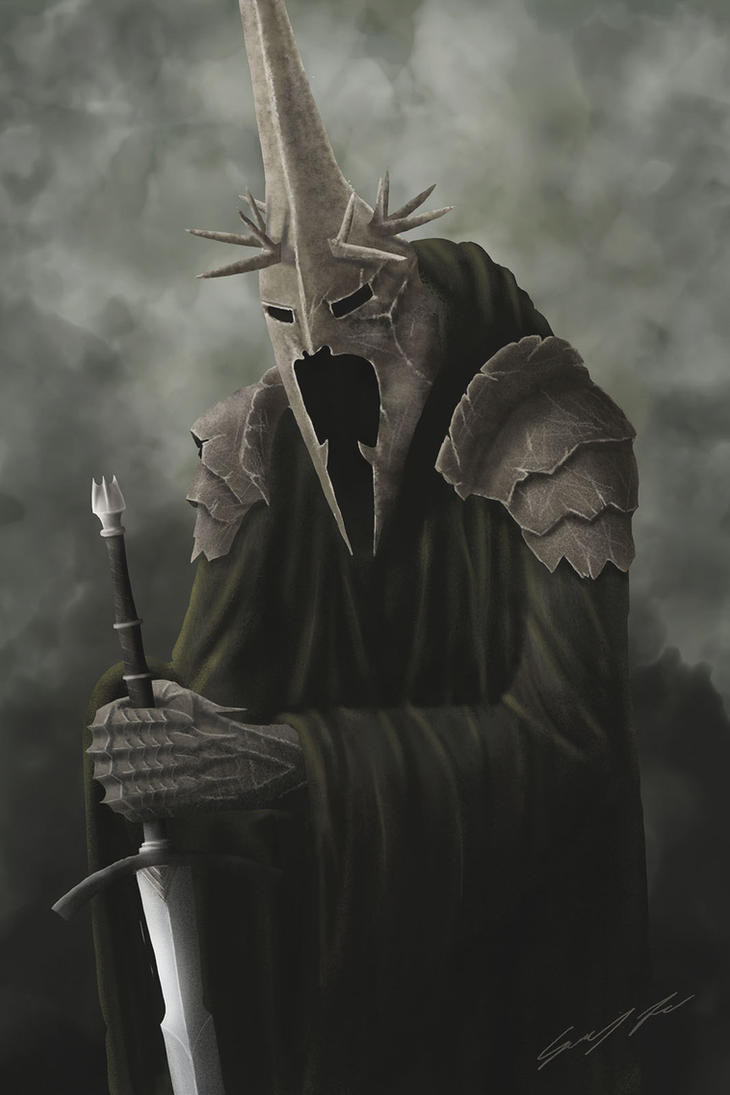 Witch-king of Angmar by JG1723
