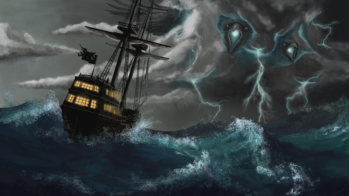 Commission - Storm Entity by JG1723