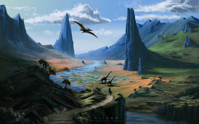 Through the Valley of Time by VITOGH
