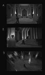 Halls of the Dark Shadows - Thumb sketches