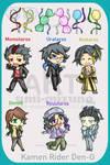Den-O - adoptables by Umi-Mizuno