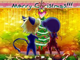 MLadybug - Merry Xmas! by Umi-Mizuno