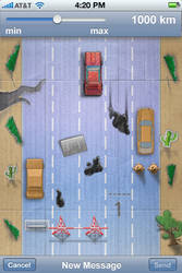 iPhone game objects by strobegen