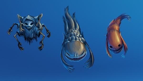 characters concept by strobegen