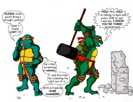 Tmnt Comic With Prismacolor By Rika24 On Deviantart