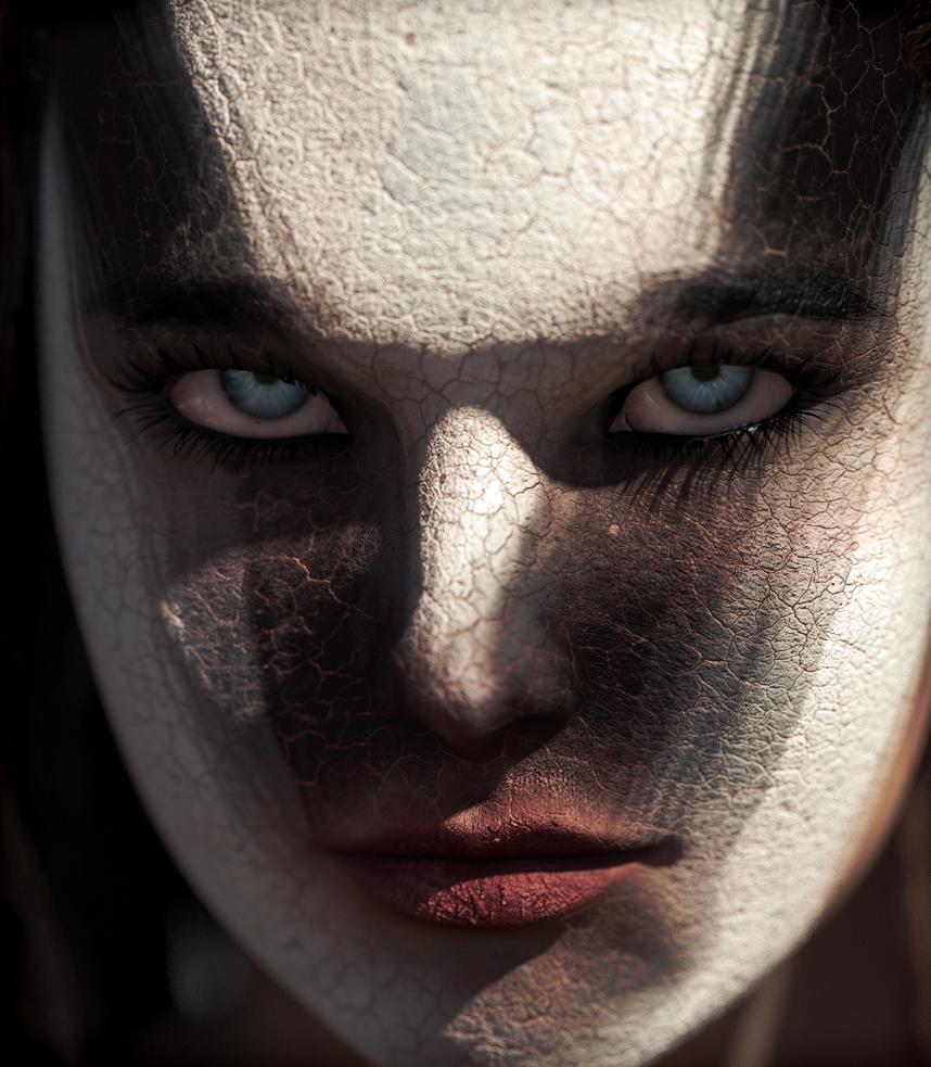 Face paint by erogenesisCGI