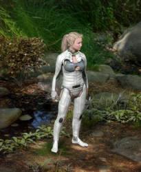 Blondie and the Nanofiber Ballistic Ecosuit 1