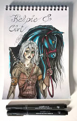 Ciri and Kelpie
