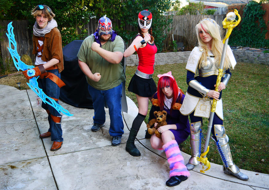 cosplay of Bard league legends