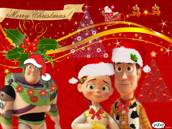 Toy Story Christmas : Woody and jessie s christmas by spidyphan on deviantart
