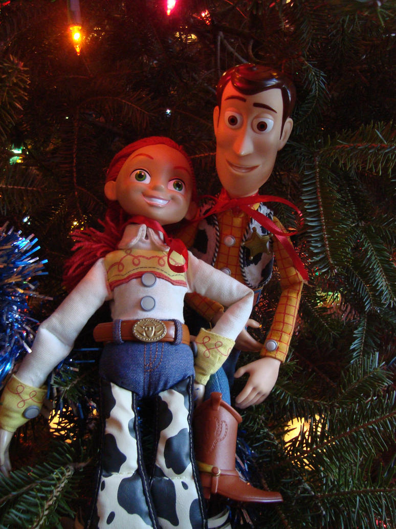 Woody and Jessie\'s Christmas by spidyphan2 on DeviantArt