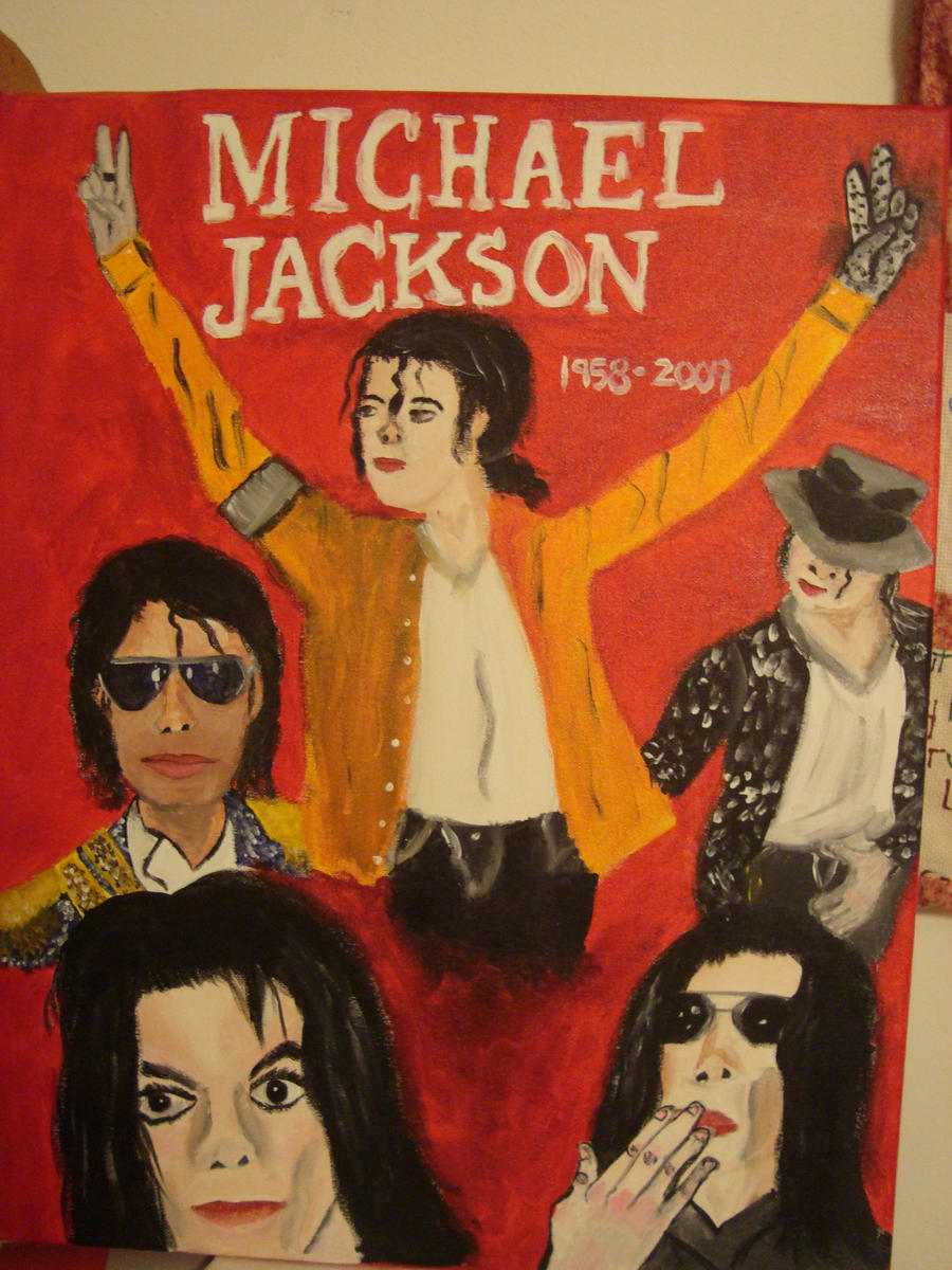 Michael jackson mural finished by spidyphan2 on deviantart for Jackson 5 mural