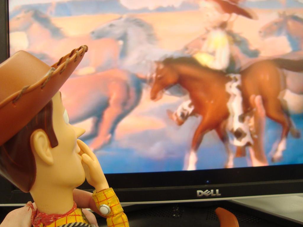 Spidyphan2 Deviantart: Woody Is Watching Jessie By Spidyphan2 On DeviantArt