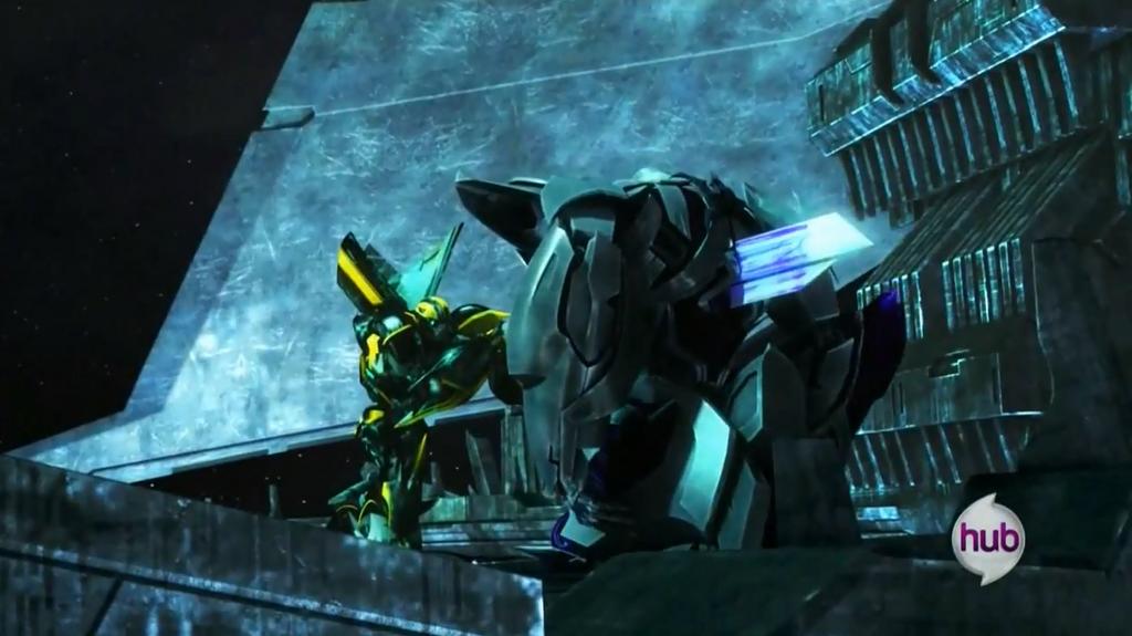Spidyphan2 Deviantart: Bumblebee Kills Megatron By Spidyphan2 On DeviantArt