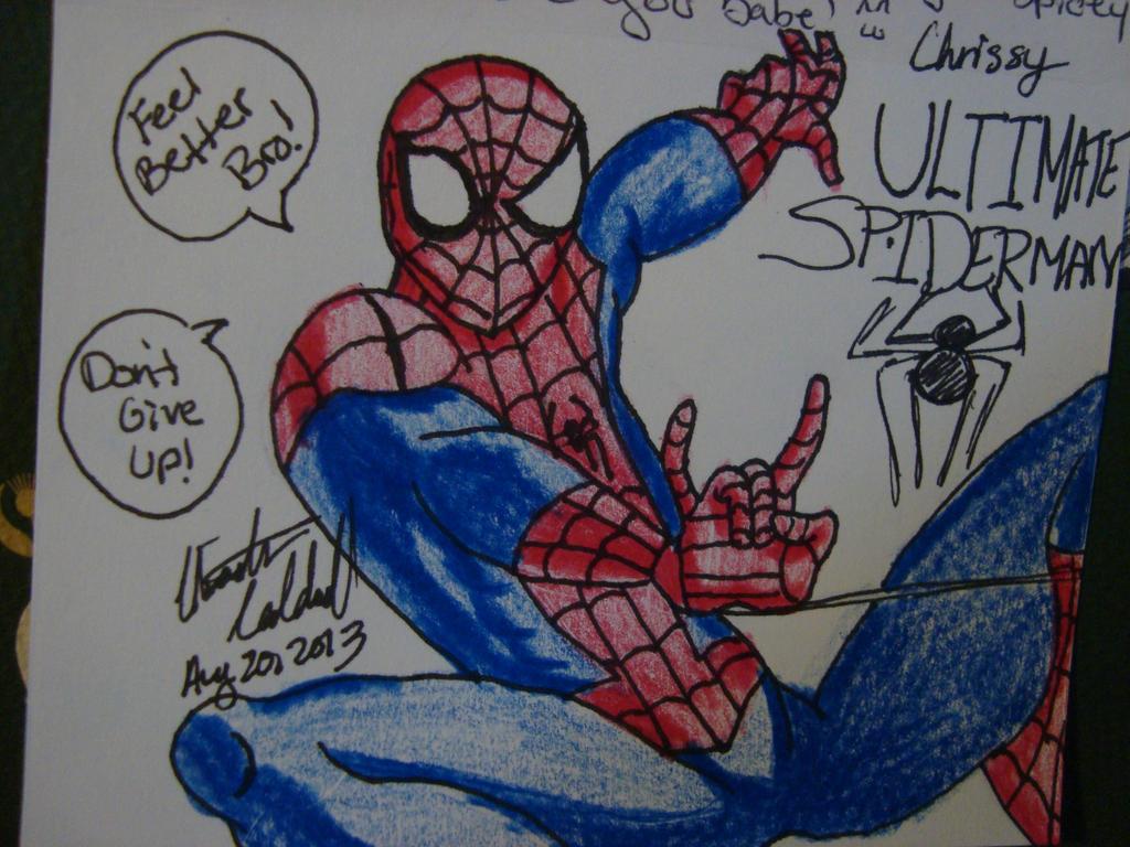 Spidyphan2 Deviantart: Ultimate Spiderman By Spidyphan2 On DeviantArt