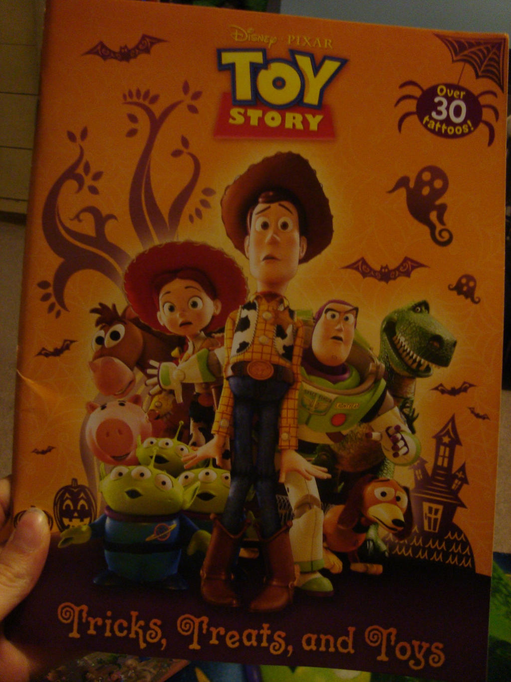 Halloween Toy Story Coloring Book By Spidyphan2 On Deviantart