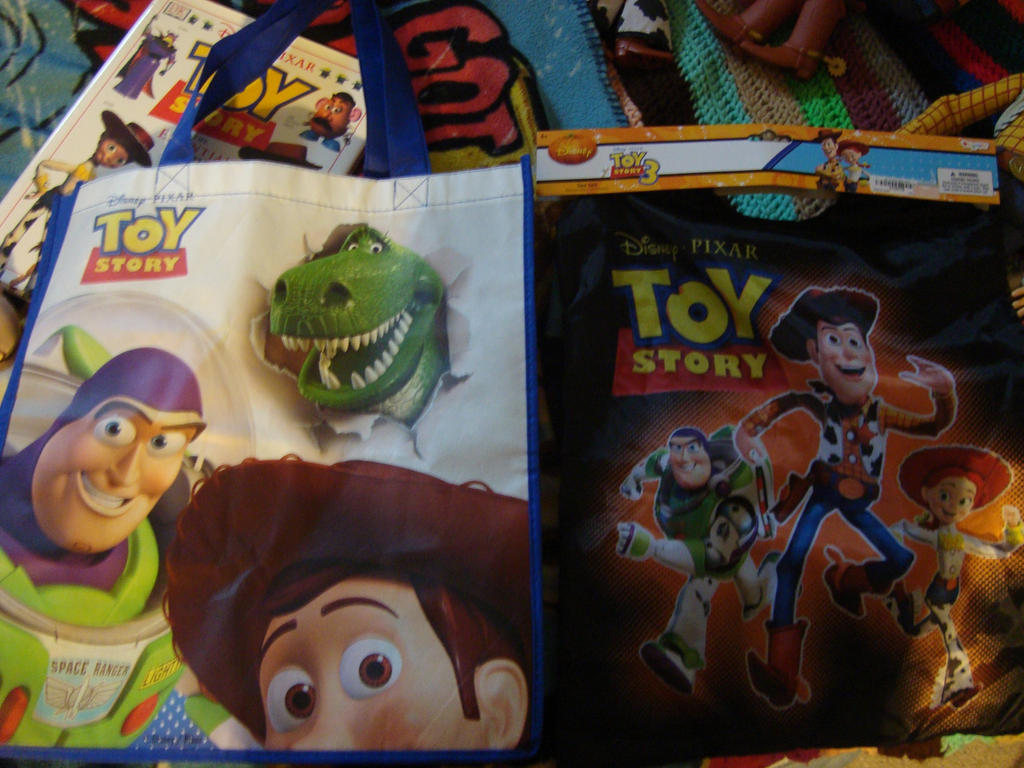 Spidyphan2 Deviantart: Toy Story Carrying Bags By Spidyphan2 On DeviantArt