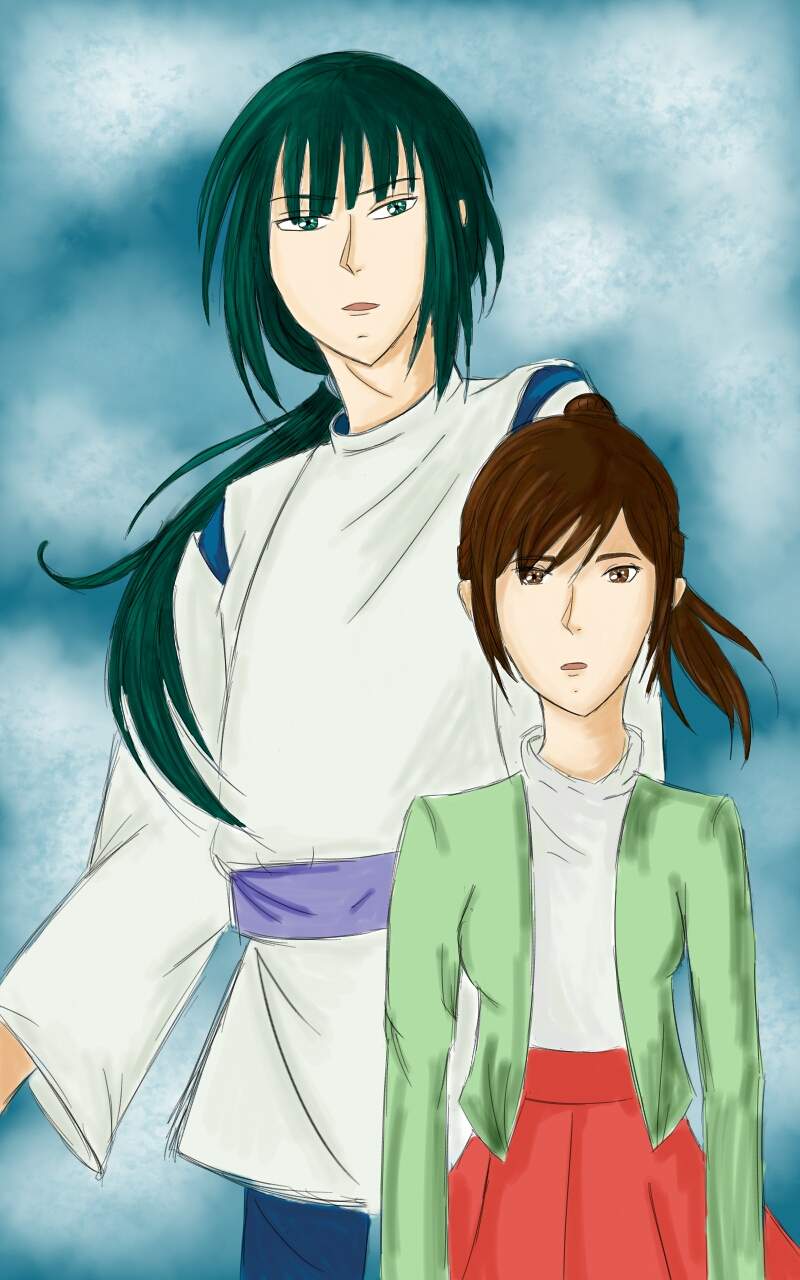 Adult haku and chihiro spirited away by deunan hunt on - Adult manga 2 ...