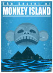 The Secret of Monkey Island - A travel poster