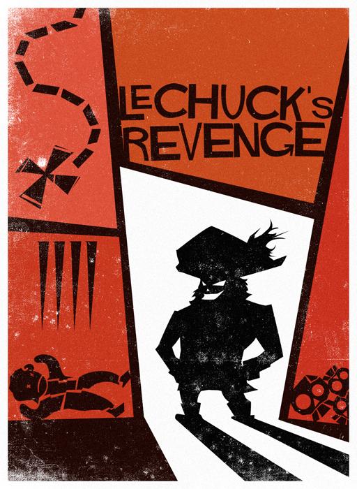 Monkey Island 2: LeChuck's Revenge - By Saul Bass by Nemiant