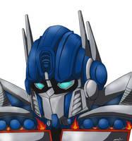 optimus prime by lilgirlb