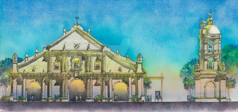 Saint Paul Cathedral, Vigan, Ilocos Sur by janeilarlegui