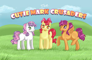The Cutie Mark Crusaders by Amenoo