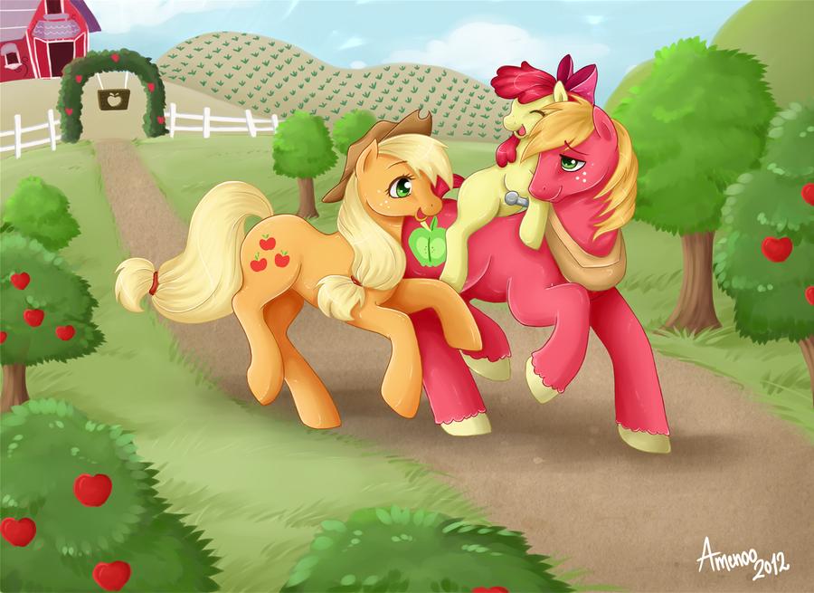 Sweet Apple Acre Siblings by Amenoo