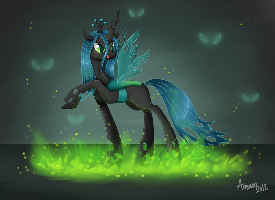 Queen of the Changelings by Amenoo
