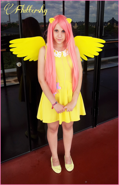 Fluttershy Cosplay - My little Pony by KawaiiTine on