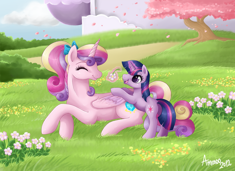 The Prettiest of Flowers by Amenoo