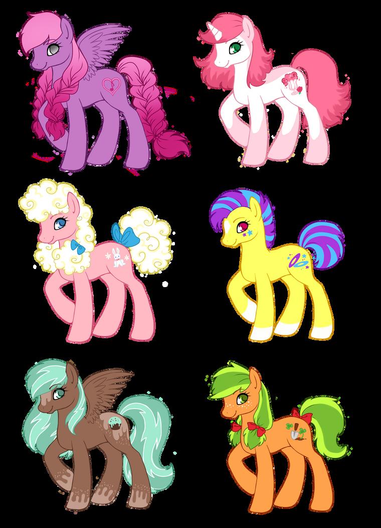 Pony Adoptables 4.0 by Amenoo
