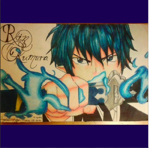 Rin Okumura by XxLuvDarkMusicxX