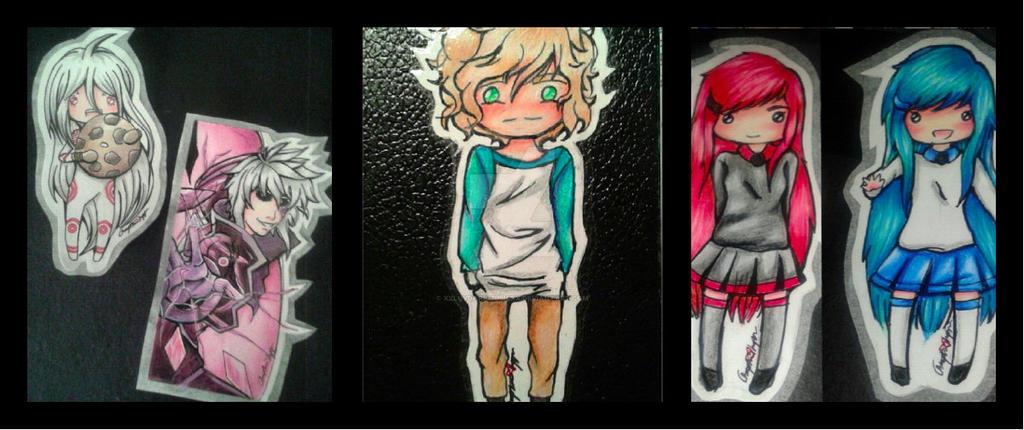 Sticker Collage by XxLuvDarkMusicxX