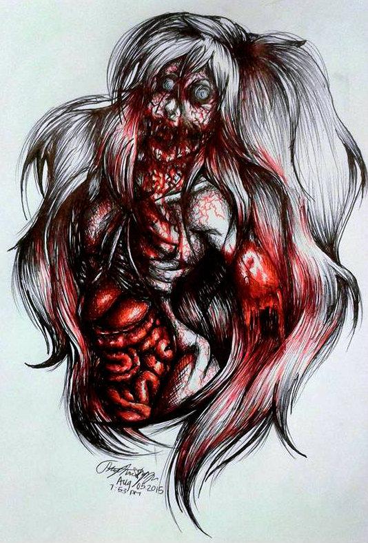 Bloody Witch by XxLuvDarkMusicxX