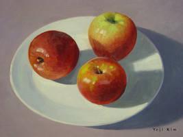 Apples in Oil by yeji522