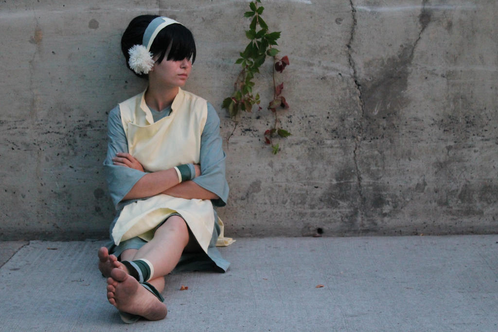 Toph Beifong Cosplay by obsessedwithYJ