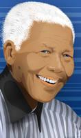 Nelson Mandela by sorriso-dan