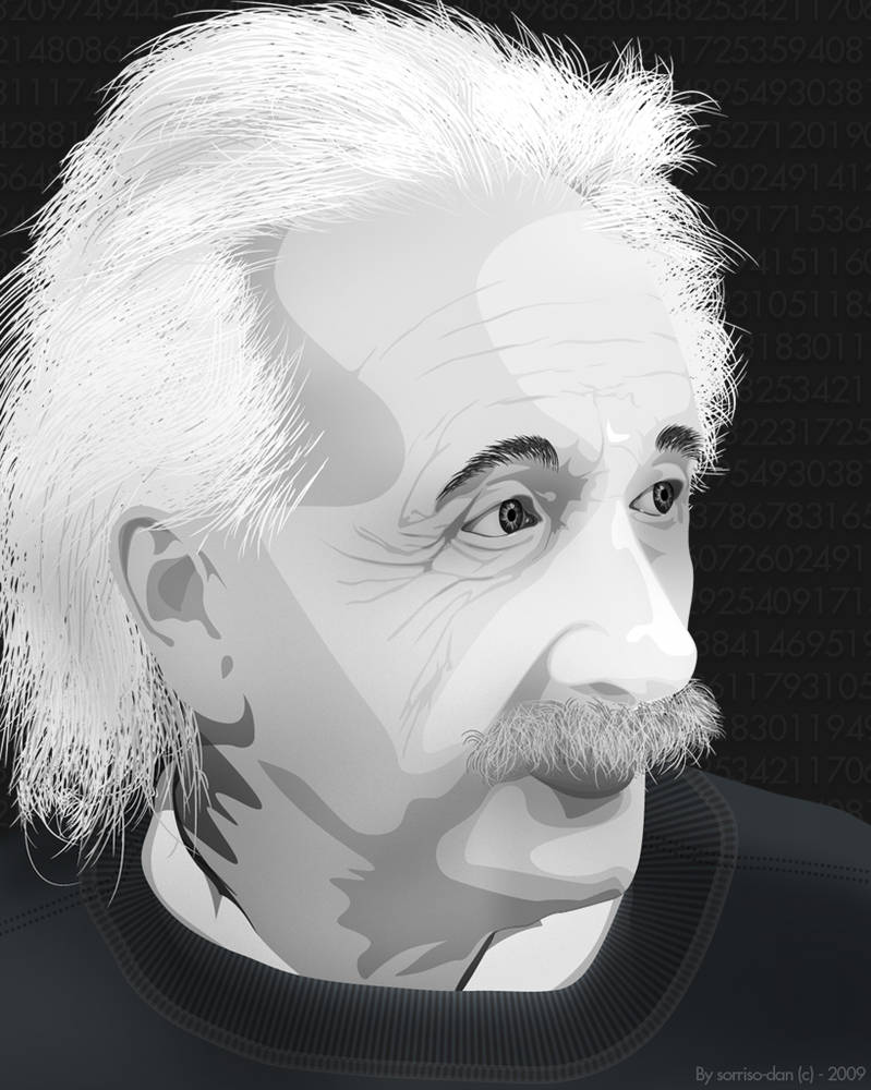 Albert Einstien by sorriso-dan