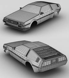 Delorean DMC 12 - outer mesh by sorriso-dan