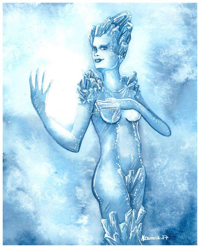 Dame de glace by ryokolila