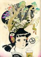 MORI girl by MikaNitta