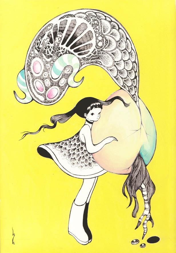 nameless egg 01 by MikaNitta