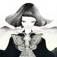 Lackey moth by MikaNitta