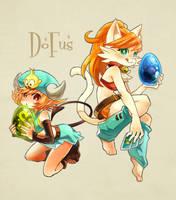 Dofus-Osamo and Eca