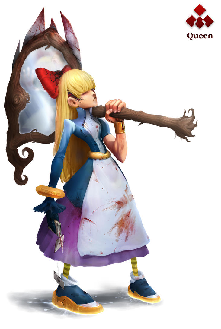 Mirror Alice - Queen in Twadro by IvikN